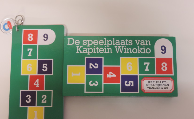 De speelplaats van Kapitein Winokio: speelplaatsspelletjes van vroeger en nu.