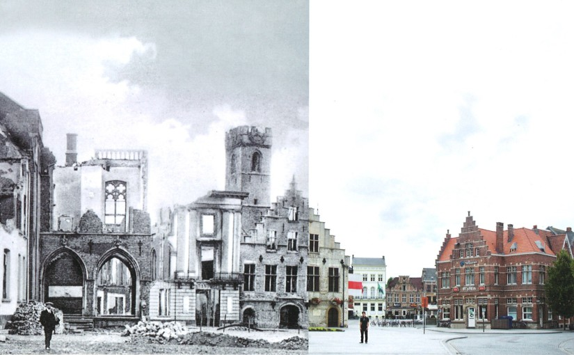 De wederopbouw van Dendermonde na WO I